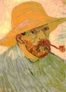 "Van Gogh ""Self-Portrait"". Arles: August, 1888"
