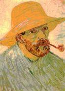 """Van Gogh """"Self-Portrait"""". Arles: August, 1888"""