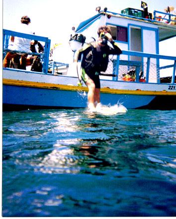 Mergulhando em Fernando de Noronha
