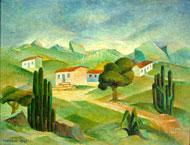 Paisagem - Tarsila do Amaral (MAM-SP)