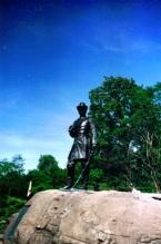 Statue of Kemble Warren