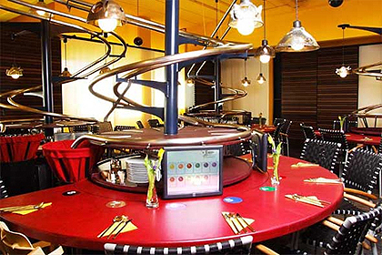 Robot-Staffed Restaurant