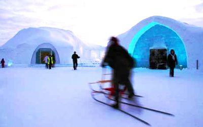 Hotéis de Gelo
