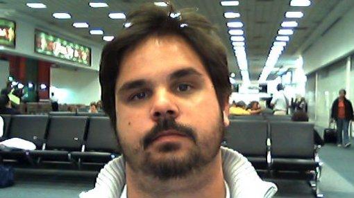 Cara de bunda no aeroporto da Cidade do México