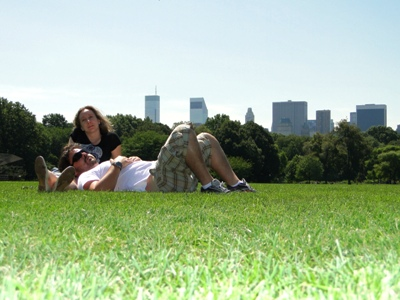 Central Park, NY - just chillin´