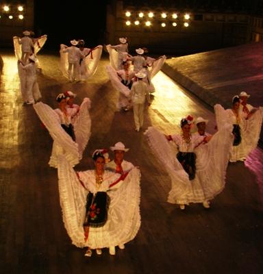Um pouco de danca mexicana