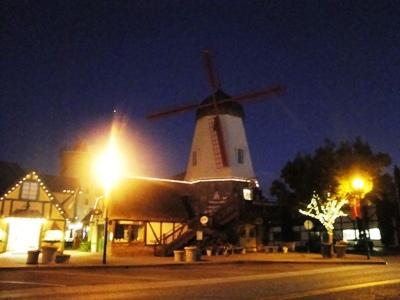 Solvang by night