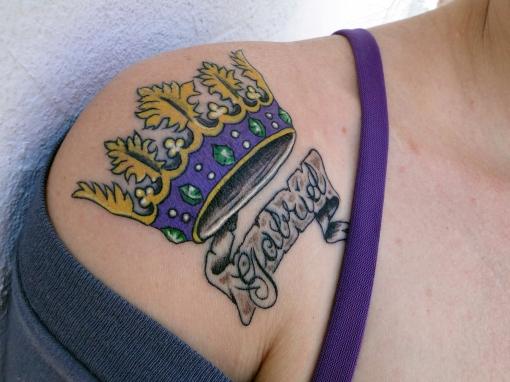 Tatuagem da Isabela